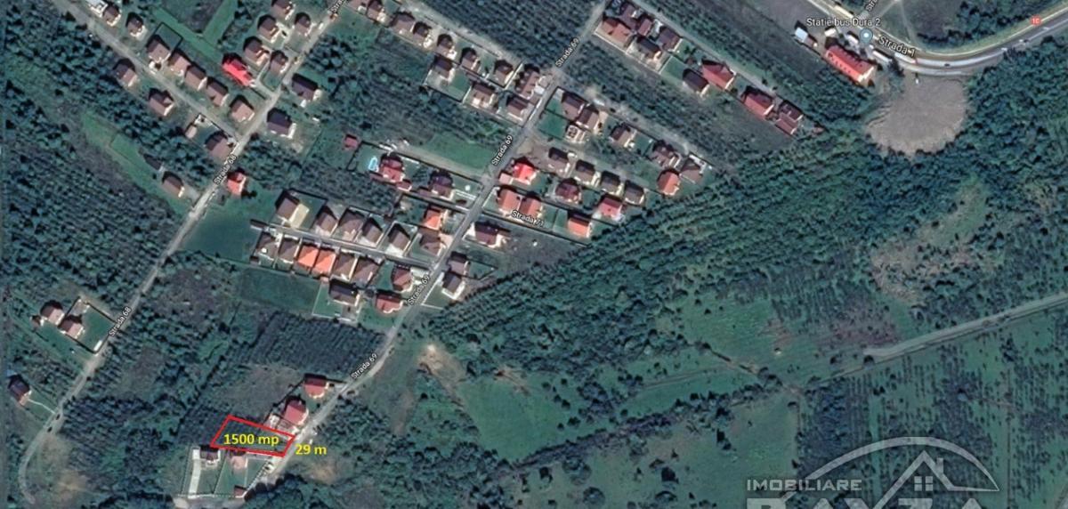 Pret: 2500 EURO, Vanzare teren, zona Tautii Magheraus - Strada 69